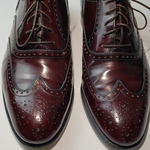 Salvatore Ferragamo Wingtip  Brogue Oxfords